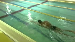Style1水泳動画 ヘッド&ショルダータッチ クロールのリカバリー...