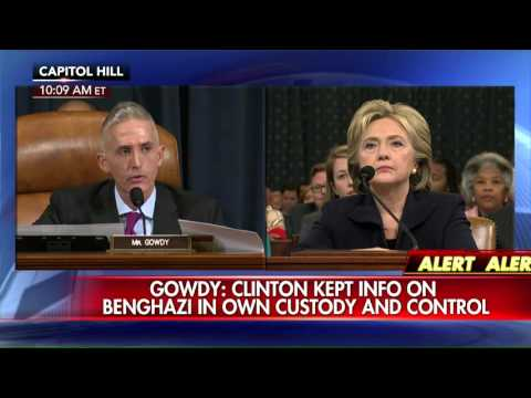 Trey Gowdy delivers opening statement to Hillary Clinton Benghazi hearing.