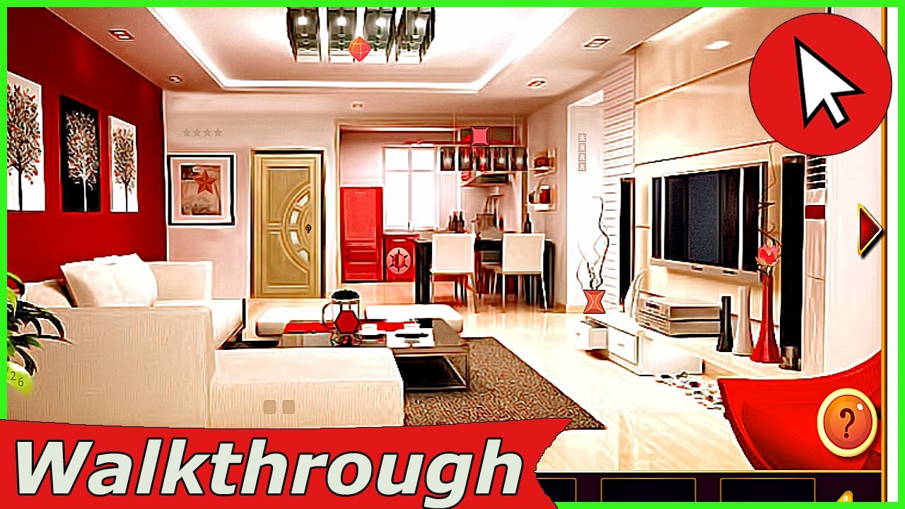 knf lovely living room escape walkthrough design decorating a small pretty elegant house gamesclicker youtube