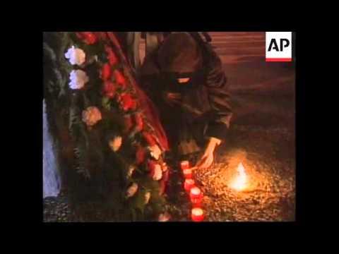 ROMANIA: 10TH ANNIVERSARY OF THE REVOLUTION: MEMORIAL