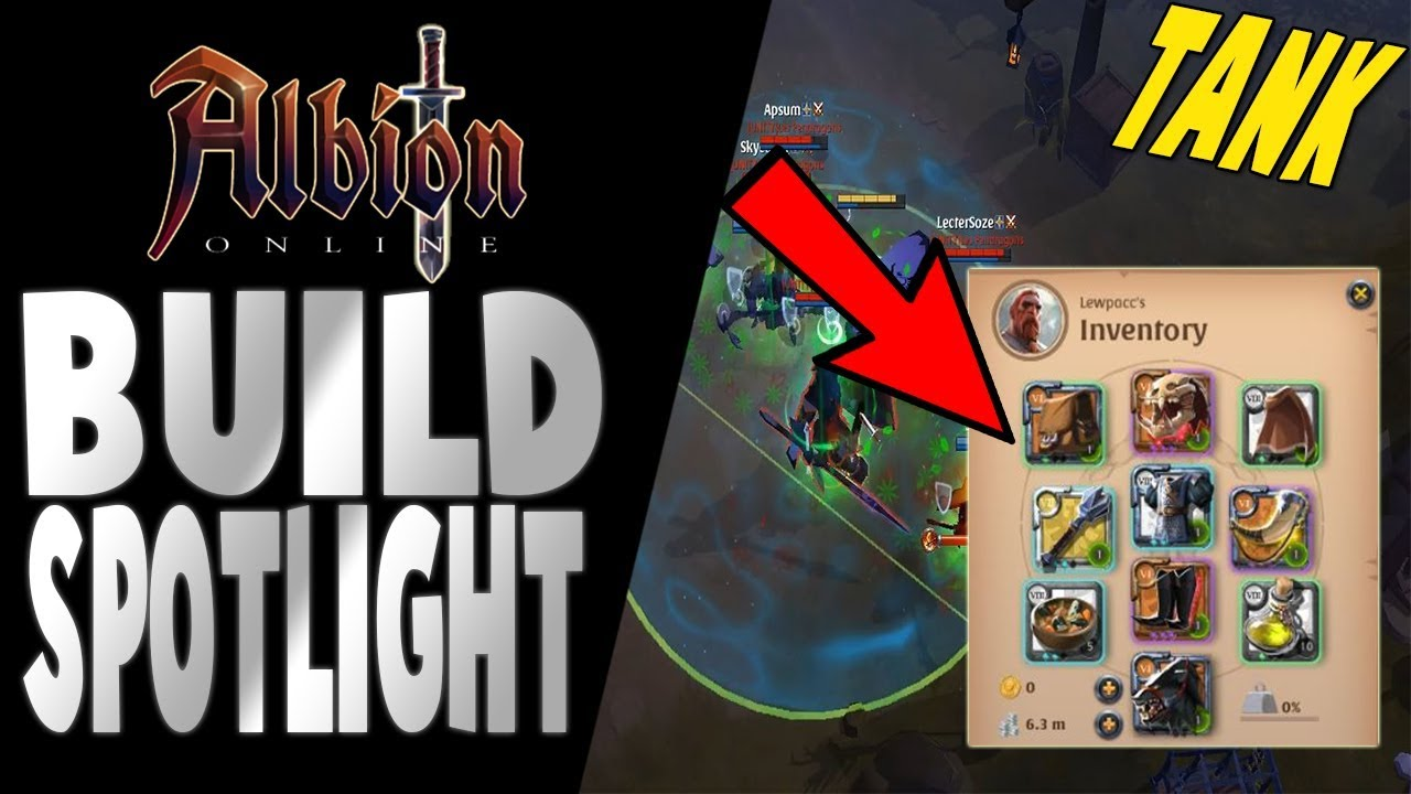 Albion Online | Build Spotlight | The Cancer Tank