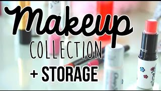 My Makeup Collection and Storage! 2014 | itsLyndsayRae Thumbnail