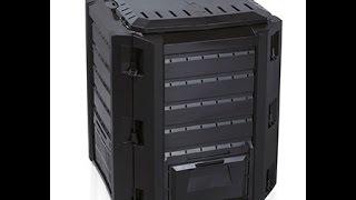 видео Компостер Biocompo 500 л черный IKBI500C-S411