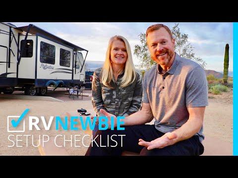 RV NEWBIE: ✅ SETUP CHECKLIST (KYD)