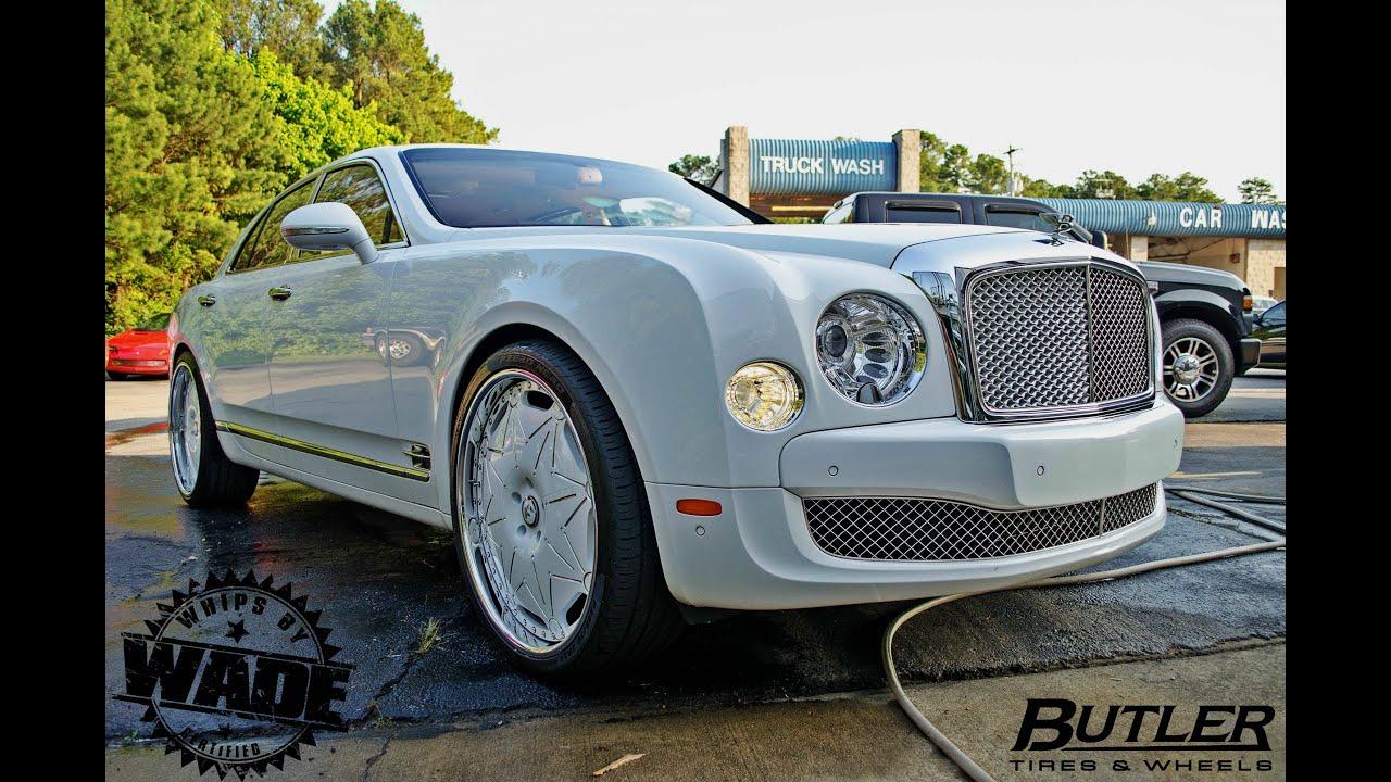 Bentley Mulsanne on 24 Diamond encrusted Forgaitos by