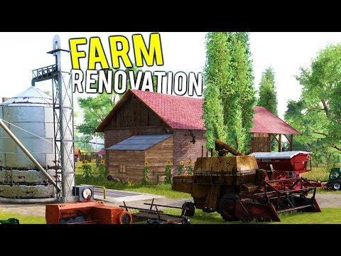 FARM FLIPPER!? RENOVATING A GIANT FARM + STARTING OUR FARMIN
