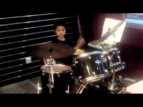 Freestyle. Cyrus Yap Drumming