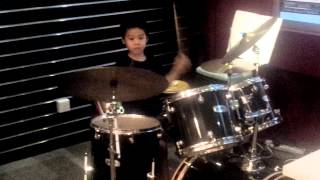 Freestyle. Cyrus Yap Drumming