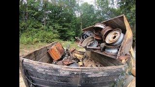 $900 for 12K lbs of SCRAP METAL. 3 heavy scrap runs