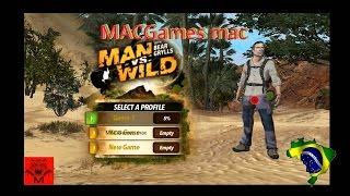 man vs wild xbox 360 BR MACGames mac