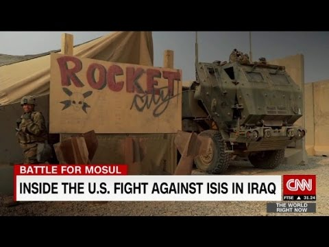 American airbase at heart of war for Mosul