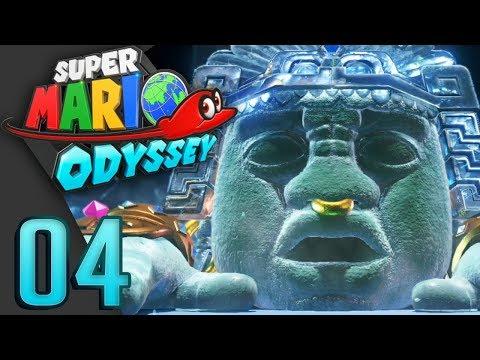 Super Mario Odyssey - Mario Contra un Dios azteca #04