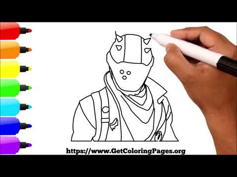 How to Draw Rust Lord Fortnite Battle Royale