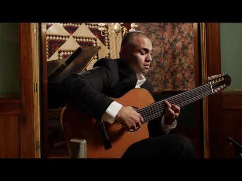 Ortega Guitars Artist Javier Reyes performs