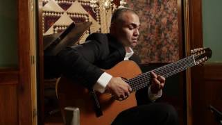 ortega guitars artist javier reyes performs suspiro with his 8 string classical guitar