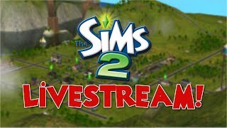 The Sims 2 Live Stream - Let's Build&Furnish!