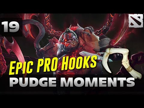 Dota 2 Pudge Moments Ep. 19 [EPIC PRO HOOKS]