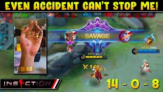 Even Accident Can't Stop me! | iNSECTiON SAVAGE Chou Gameplay!