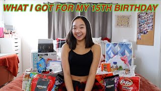 WHAT I GOT FOR MY 15TH BIRTHDAY (HAUL)! Vlogmas Day 6 | Nicole Laeno