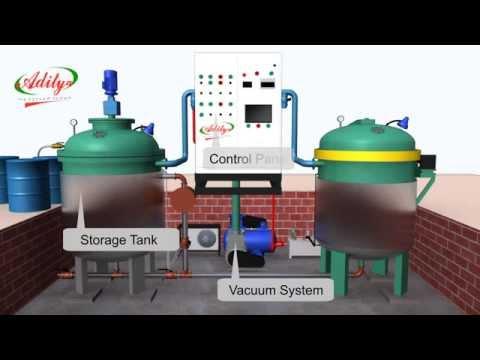 Vacuum Impregnation Plant - Process Animation