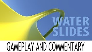 Water Slides VR - Gameplay and Commentary - Oculus Go Getters