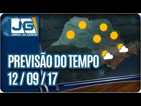 Previsão do Tempo - 12/09/2017