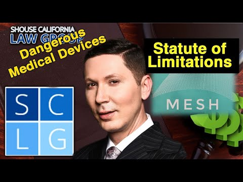 """What is the """"statute of limitations"""" (deadline) to file my hernia mesh lawsuit?"""