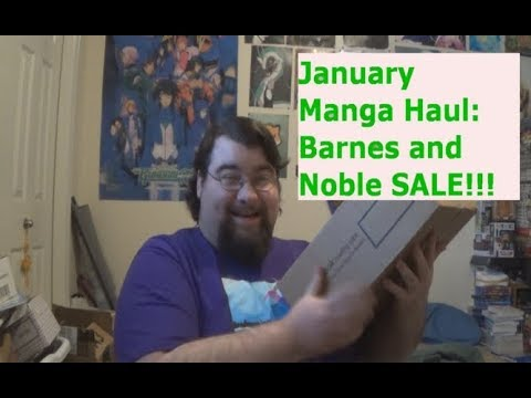 Manga Haul January 2018: Barnes and Noble Manga Sale!