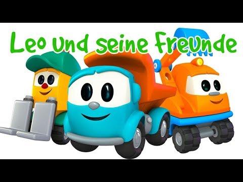 Leo der Lastwagen Zeichentrick 🚚 5 Videos von #LeoJunior auf Deutsch/ Zeichentrickfilm für Kinder