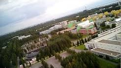 Flying above Linnanmaa and Kaijonharju, Oulu (25.8.2011)