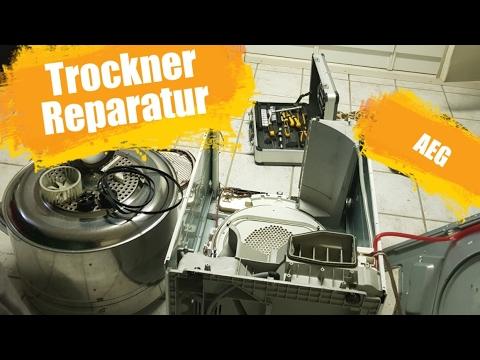 Trockner reparatur youtube