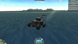 lawnmower dreams ... or nightmares? (KSP with FAR and B9)