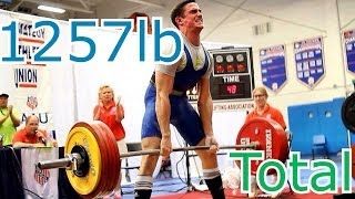 My First Powerlifting Meet- 1257lb Total