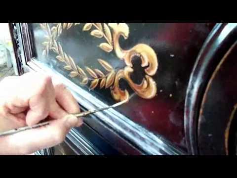 Hand Decorating at Karges Furniture