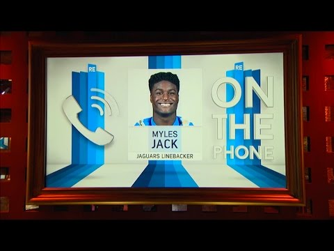Jaguars LB Myles Jack Opens up About Not Being Drafted in the 1st Round - 5/2/16
