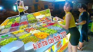 Ngon hút hồn Trái cây tô Tự chọn đường ray xe lửa Phạm Văn Đồng TP HCM