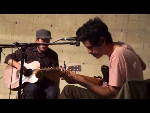 Devendra Banhart and Andy Cabic perform