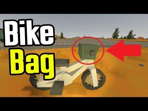 UNTURNED - Handlebar Bag for Bicycle!! - Unturned Bike Challenge - Ep. 2