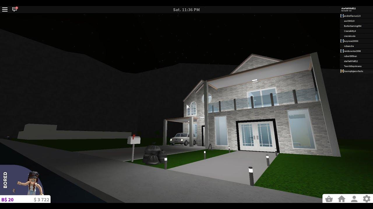 Small Budget House 15k Bloxburg Speed Build Youtube