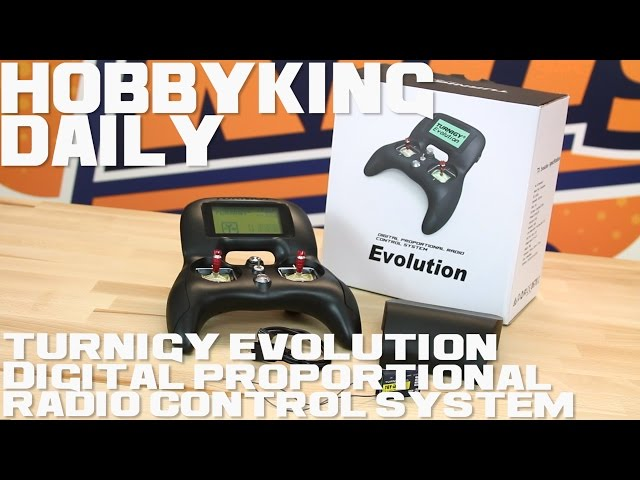 Turnigy Evolution Digital Proportional Radio Control System Hobbyking Daily