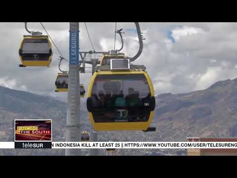 World Biggest Cable Car in Bolivia Turns Into Self-financing Public Company