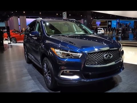 2017 Infiniti Qx60 Review Walkaround Features Specifications You