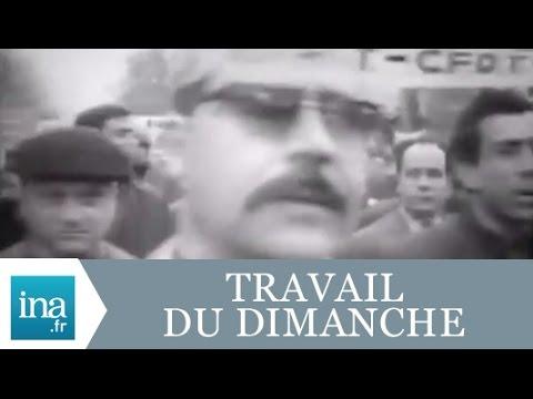 L'évolution du temps de travail en France - Archive INA