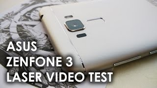 Asus Zenfone 3 Laser (ZC551KL) - Video Test Full HD 1080p