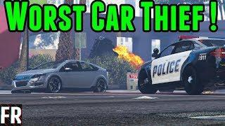 Gta 5 Mods - Worlds Worst Car Thief
