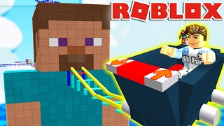 Roblox | SUPER GLIDE SLOWLY ALONG STEVE-Cart Ride | Kia Breaking