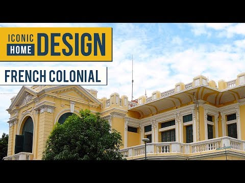 Iconic Home Design | French Colonial