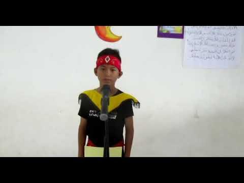 Fls 2019 Lomba Baca Puisi Anis Perdana Putra SD Eka Tjipta Semandau