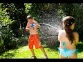 Kids squirting on eachothers (18+)