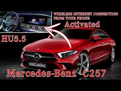 Mercedes Benz Comand Online NTG 5.5 активация функции поддержки интернет через телефон! Open Port 2!